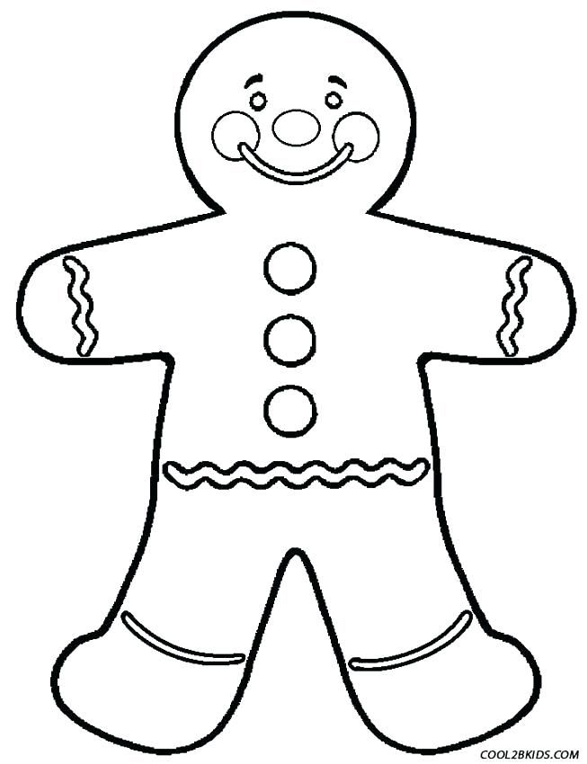 653x850 Coloring Pages Gingerbread Man Gingerbread Men Drawing At Free