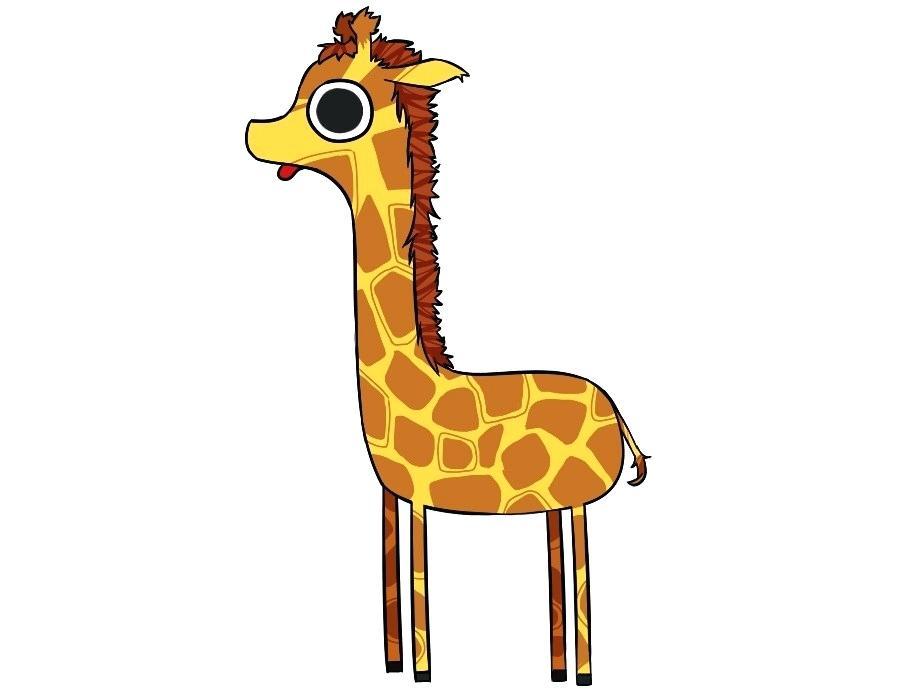 900x700 drawing a giraffe giraffe drawing pic easy drawing giraffe head