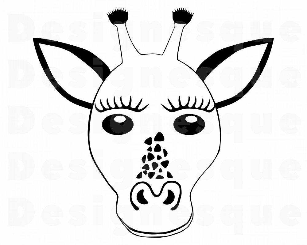 1000x800 giraffe head giraffe giraffe clipart giraffe etsy