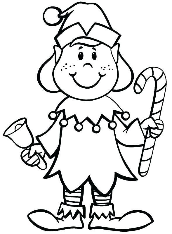 589x800 Elf Coloring Pages Printable As Well Elves Template Sketch Girl