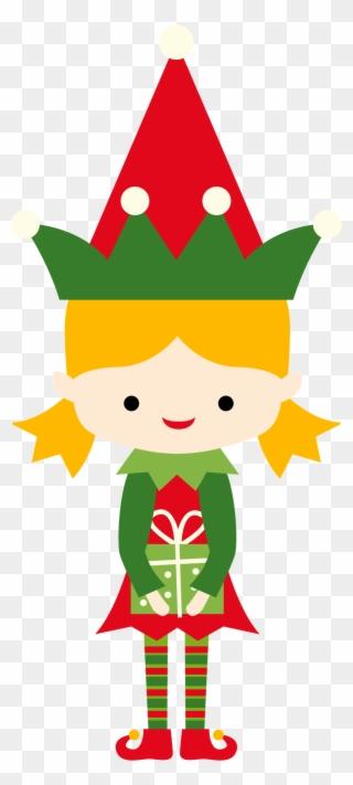 320x711 Christmas Girl Elf Clip Art Christmas Drawing, Christmas