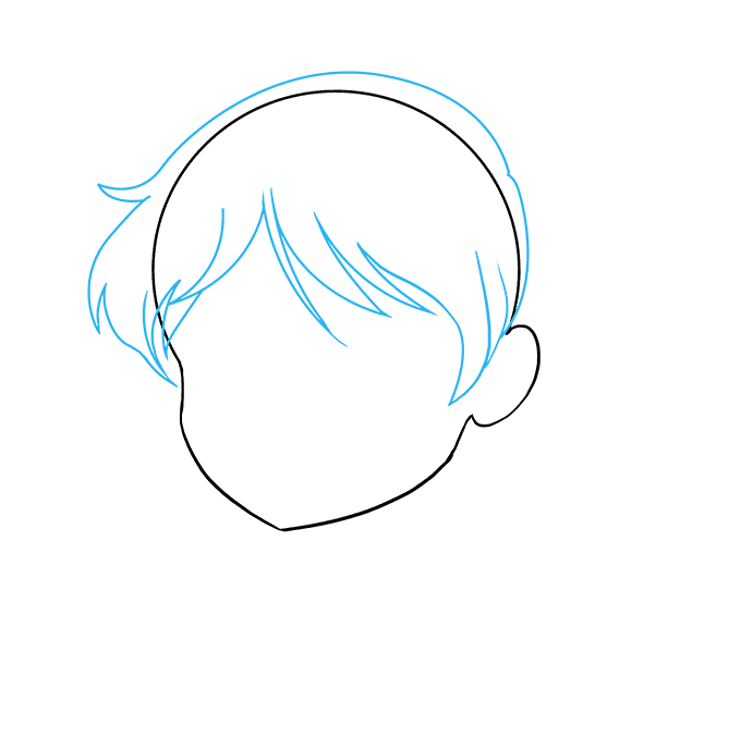 680x678 How To Draw An Anime Girl Face