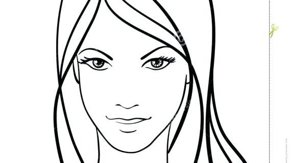 570x320 Simple Drawing Face Simple Face Drawing Cartoon