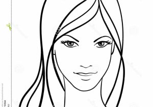 300x210 Girl Face Drawing Step