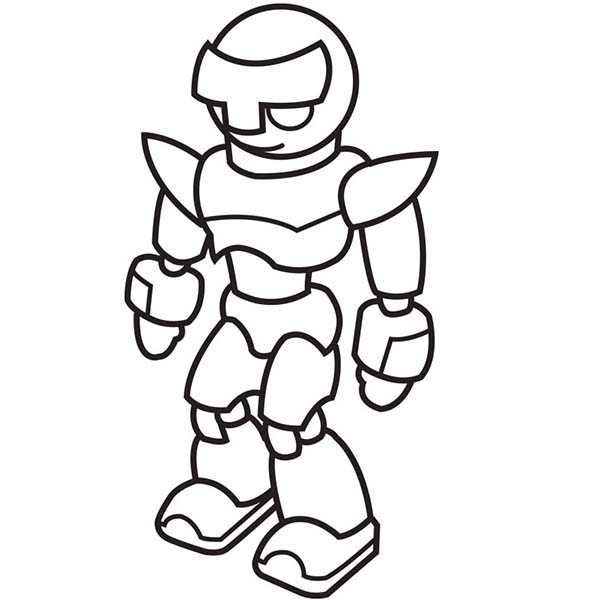 600x600 Strong Drawing Robot For Free Download