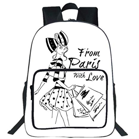 466x466 iprint large casual backpack,paris,from paris
