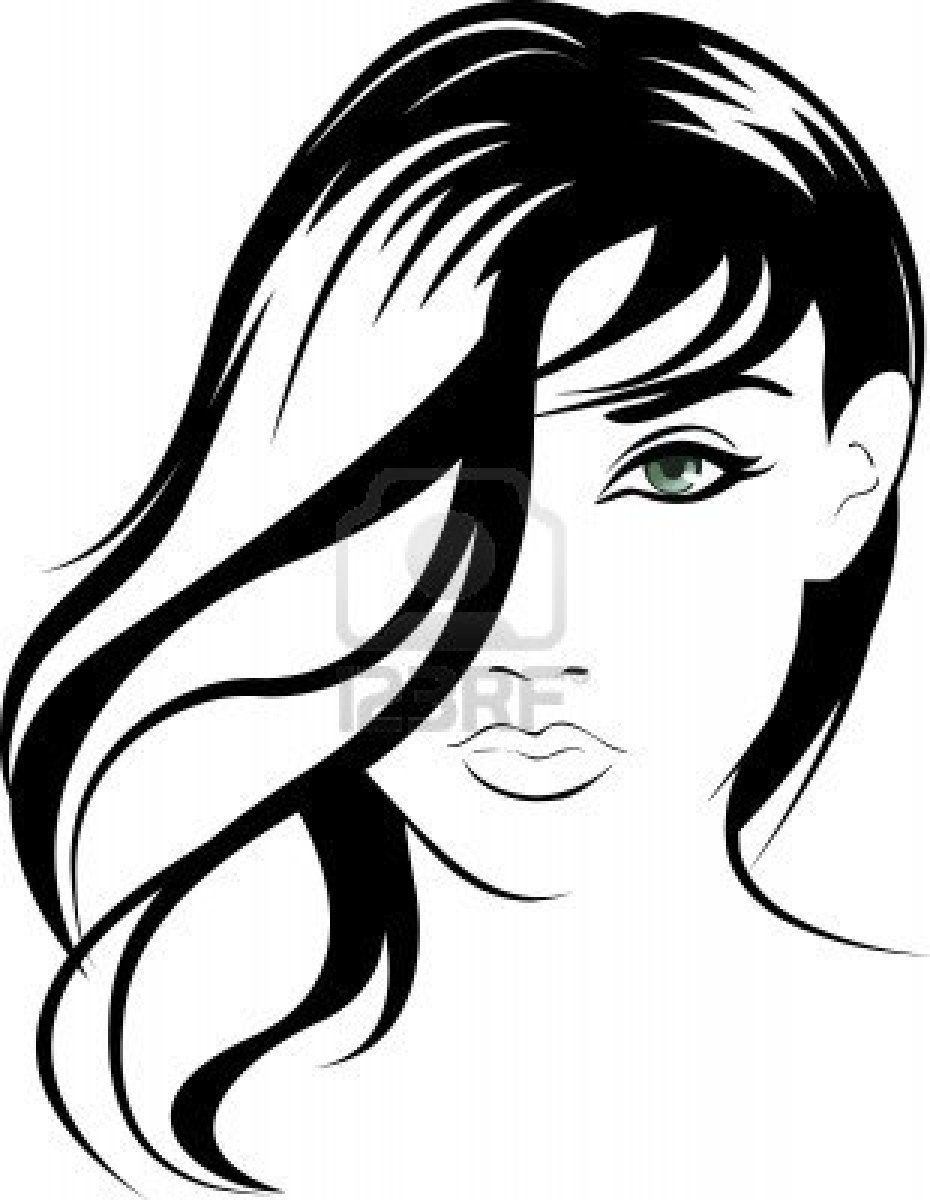 930x1200 stock vector stencil portrait illustration, art, portrait