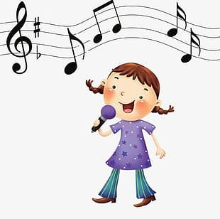 310x308 cartoon girl singing png images, cartoon girl singing clipart free