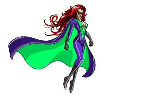 300x200 How To Draw Female Superheroes