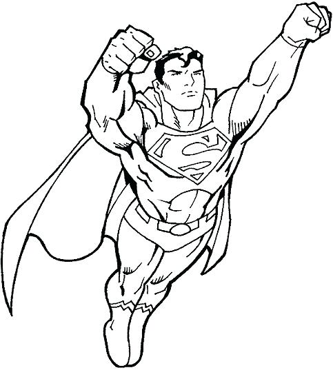 483x537 Super Hero Coloring Sheets Best Superhero Coloring Pages Ideas