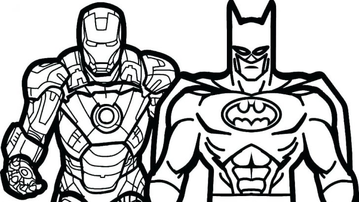 728x410 Super Hero Hulk Coloring Pages Superhero Marvel Squad Free