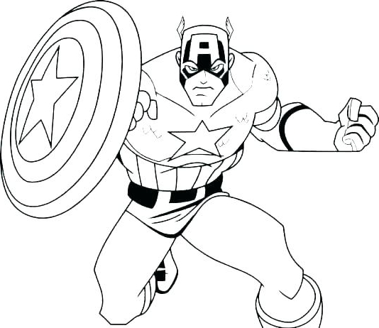 534x462 Superheroes Printable Coloring Pages Coloring Marvel