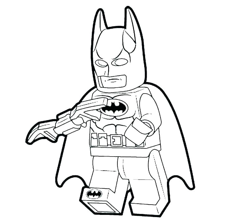 761x715 Superheroes Printable Coloring Pages