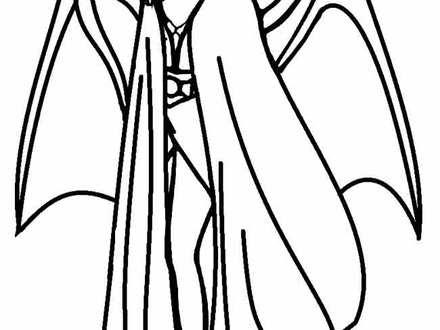Girl Vampire Drawing