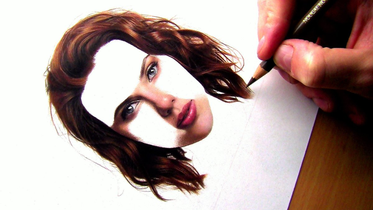 1200x675 Neeyellow On Twitter Drawing Realistic Red Wavy Haircurly Hair