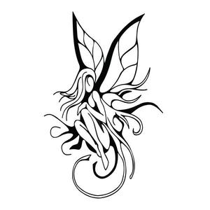 300x300 Fairy Vinyl Decal Sticker For Cartruck Window Cute Wings Mythical