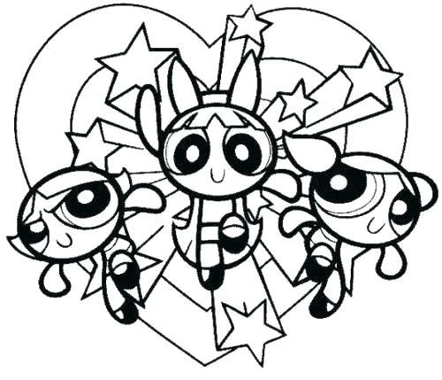 500x429 powerpuff girls coloring book girls coloring book coloring pages