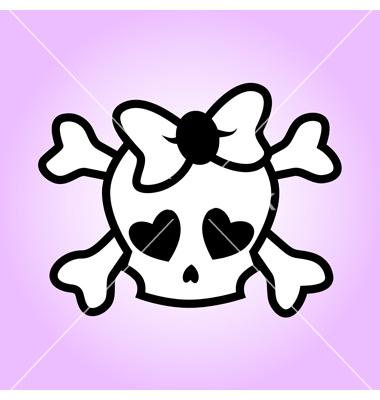 Girly Skull Drawings