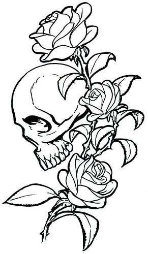 Girly Skull Drawings Free Download Best Girly Skull Drawings On
