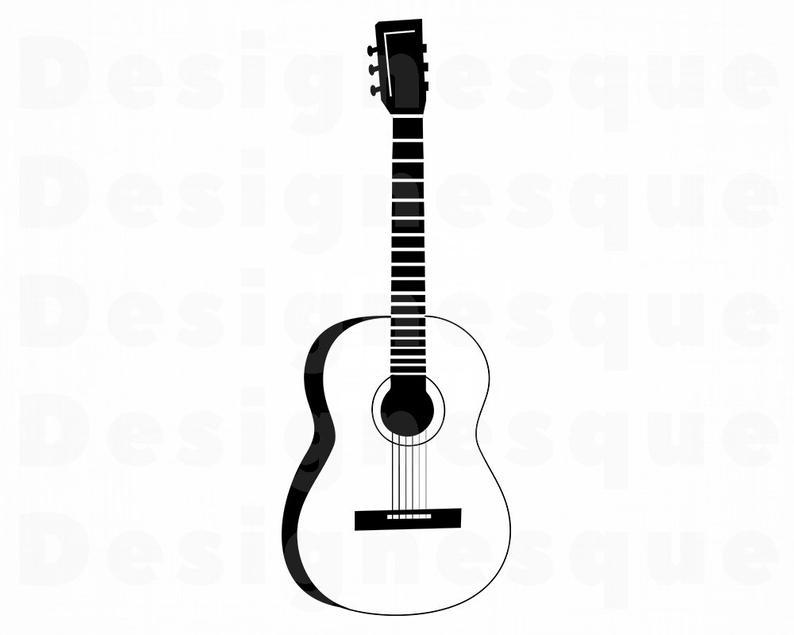 794x635 guitar outline guitar guitar outline clipart guitar etsy