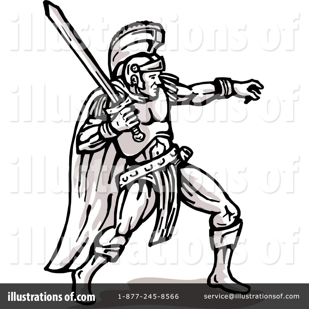Gladiator Helmet Drawing