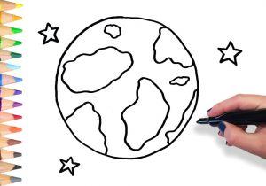 300x210 Easy Drawing Earth