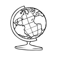 236x236 Best Globe Drawing Images Globe Drawing, Art Drawings, Doodles