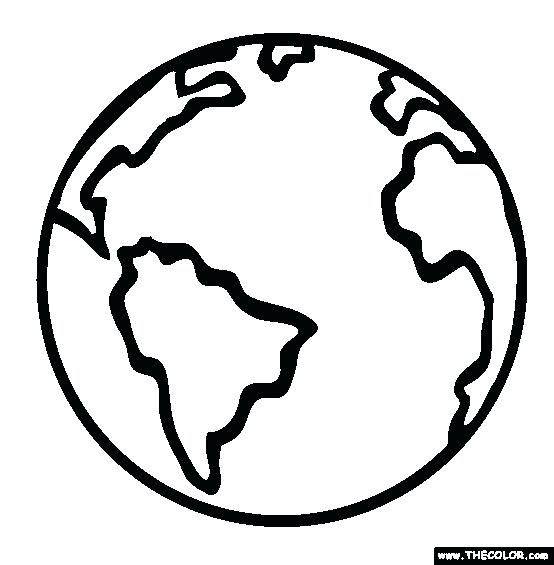 554x565 Earth Drawing Easy For Free Download