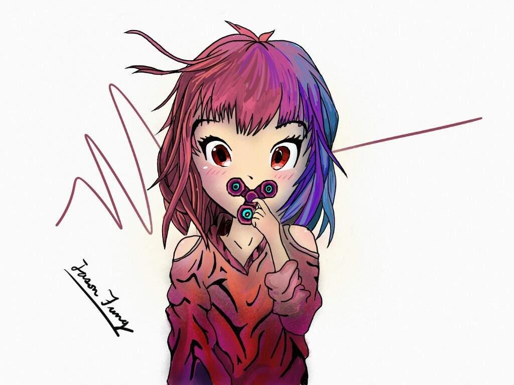 1024x768 Glow Anime Art Amino