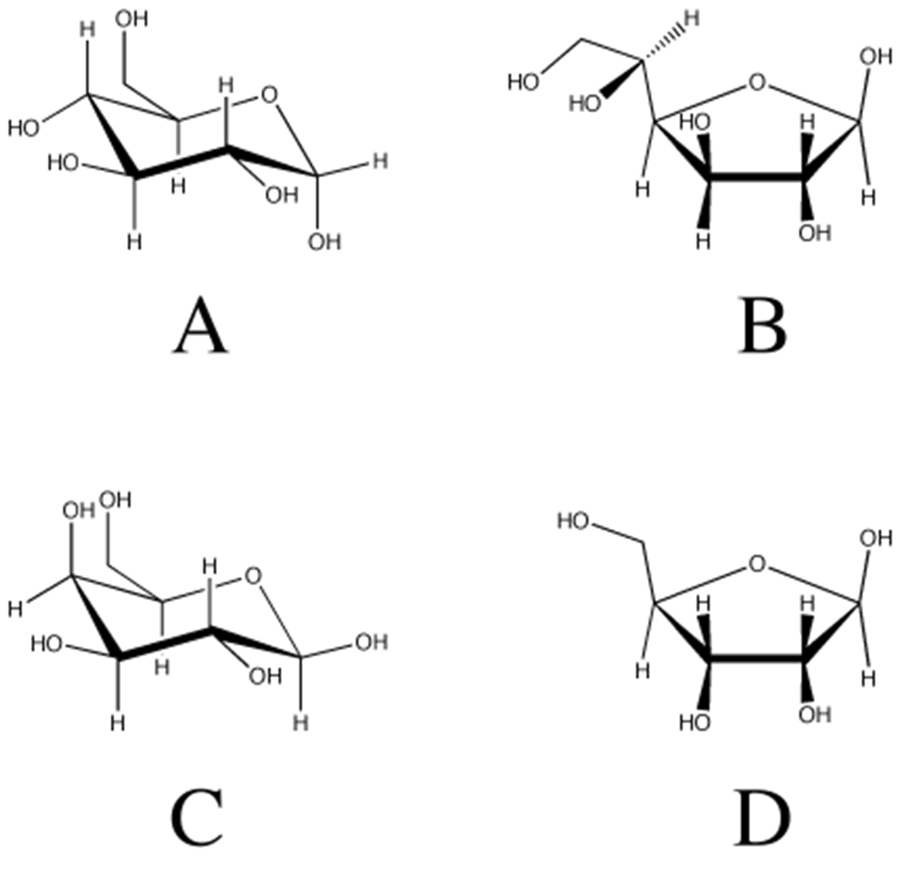 1799x1741 solved glucose structure which of the following structure