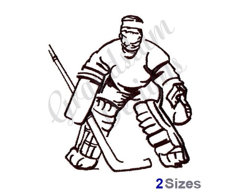 Goalie Drawing Free Download Best Goalie Drawing On Clipartmag Com