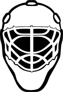 204x295 goalie mask simple outline clip art hockey mom goalie mom