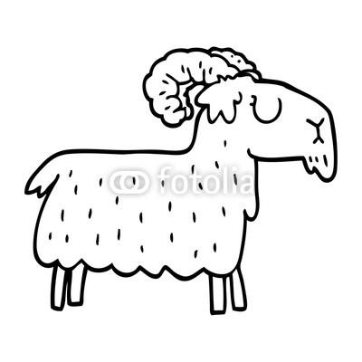 400x400 line drawing cartoon stubborn goat buy photos ap images