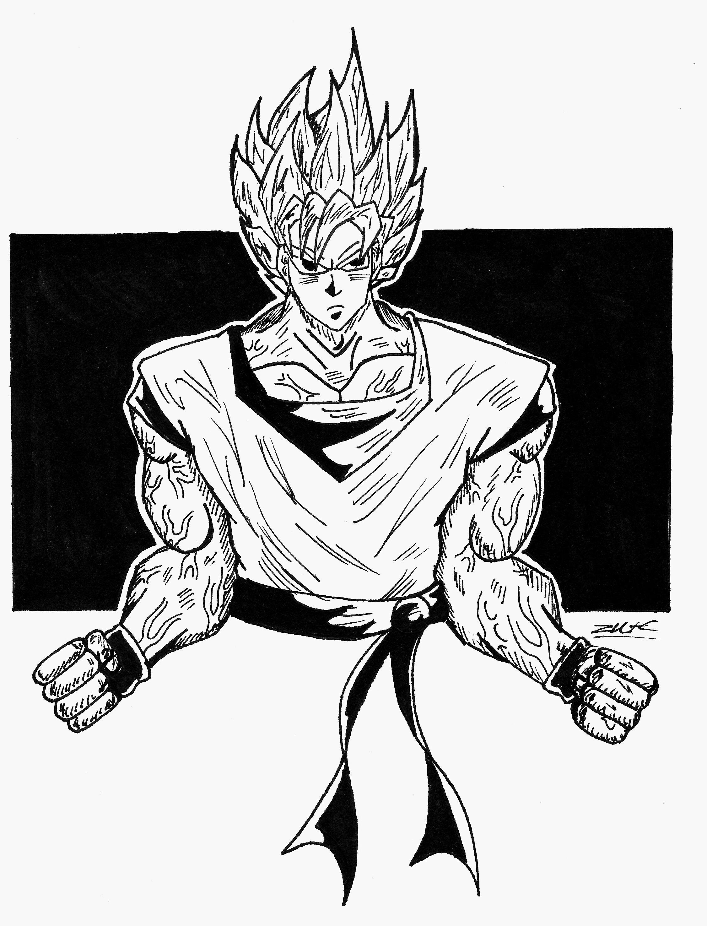 2252x2949 Goku