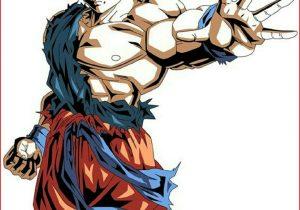 300x210 Goku Drawing Dbz Gt Character Drawings