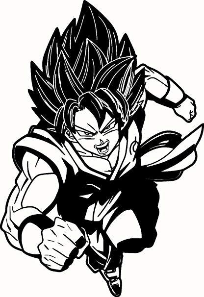 416x606 Dragon Ball Z Super Saiyan God Goku, Light Blue