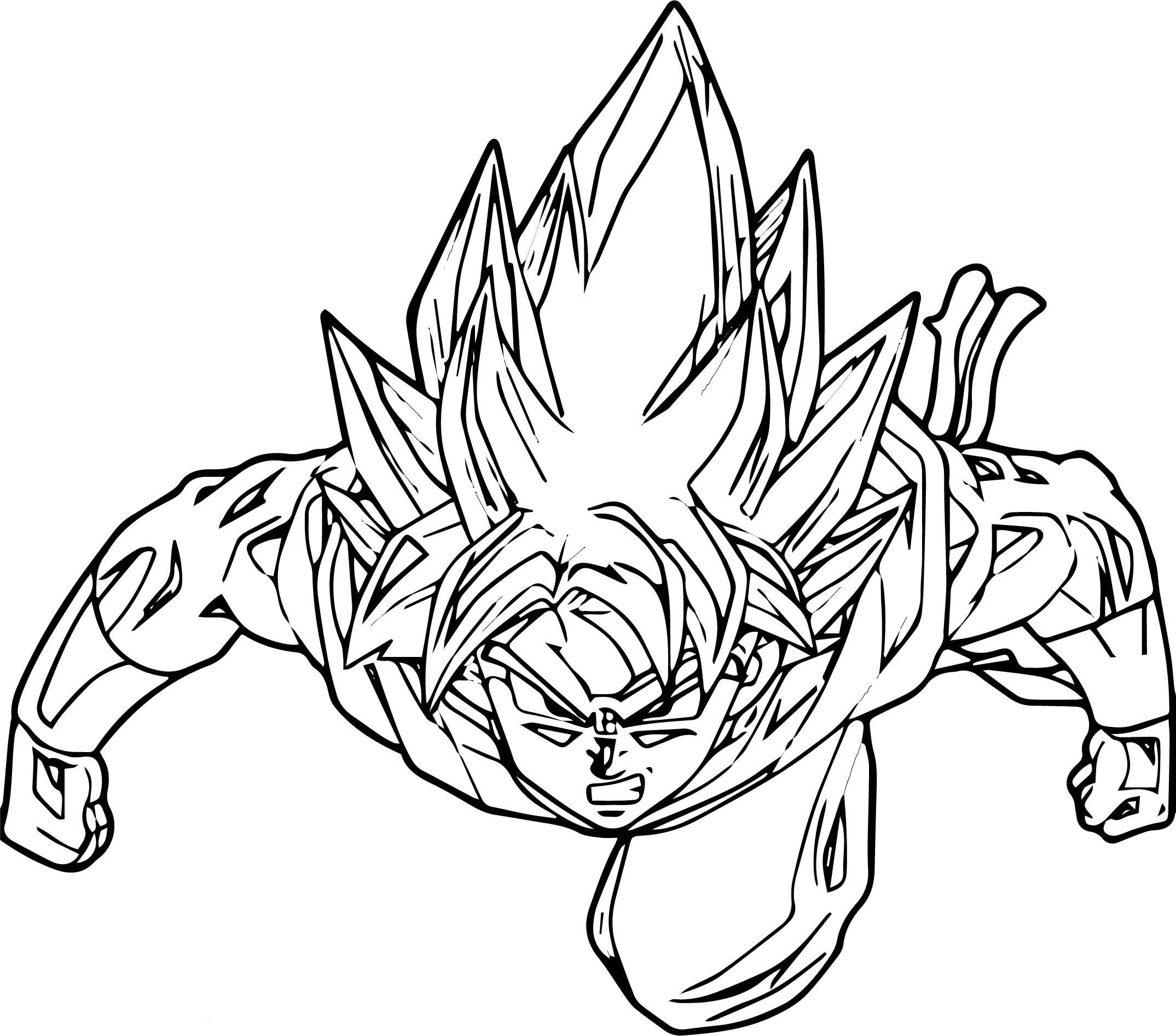 2149x1894 Goku We Coloring
