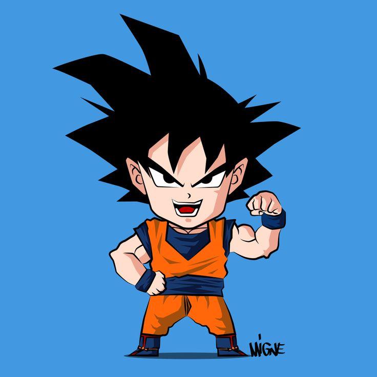 736x736 How To Draw Chibi Goku