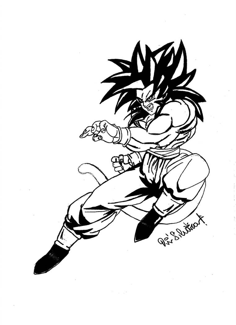 762x1049 Sketch Goku