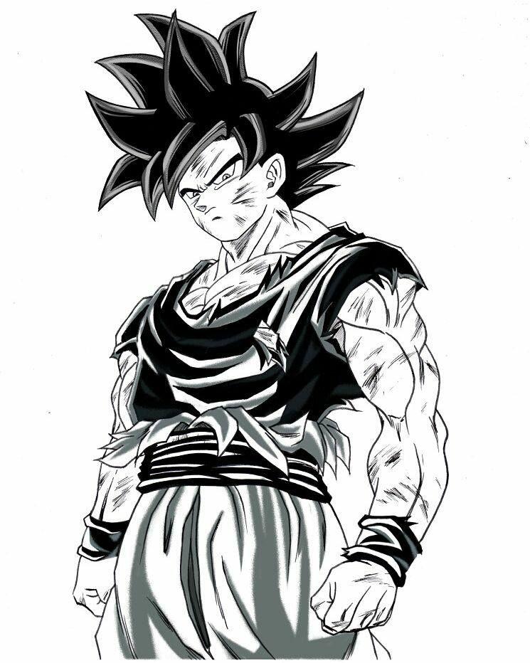 745x932 Video Desenhe Seus Personagens Favoritos Dragon Ball, Z Super