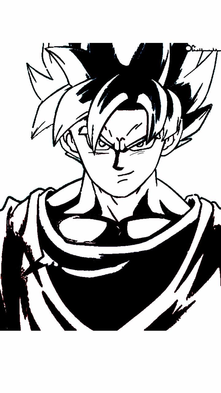 720x1280 Dragonballz Dbz Dragonballsuper Goku Gokussj Gokublack