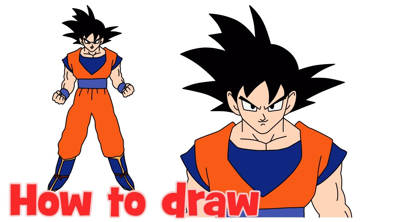 Goku Super Saiyan 4 Drawing