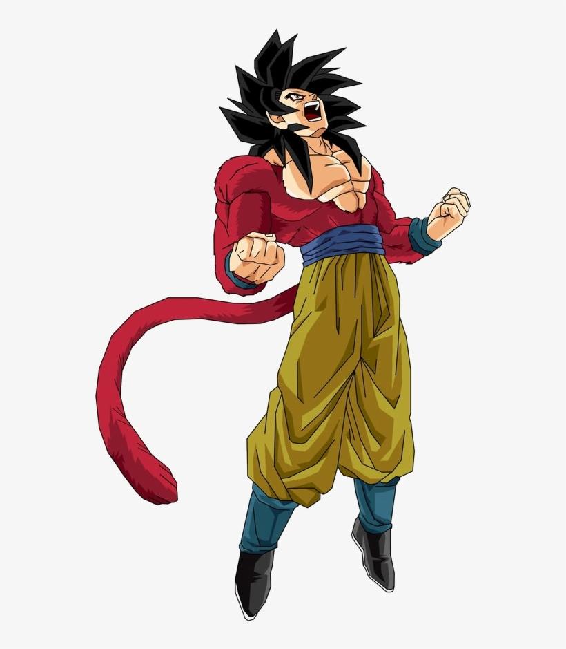 Goku Super Saiyan 4 Drawing Free Download On Clipartmag