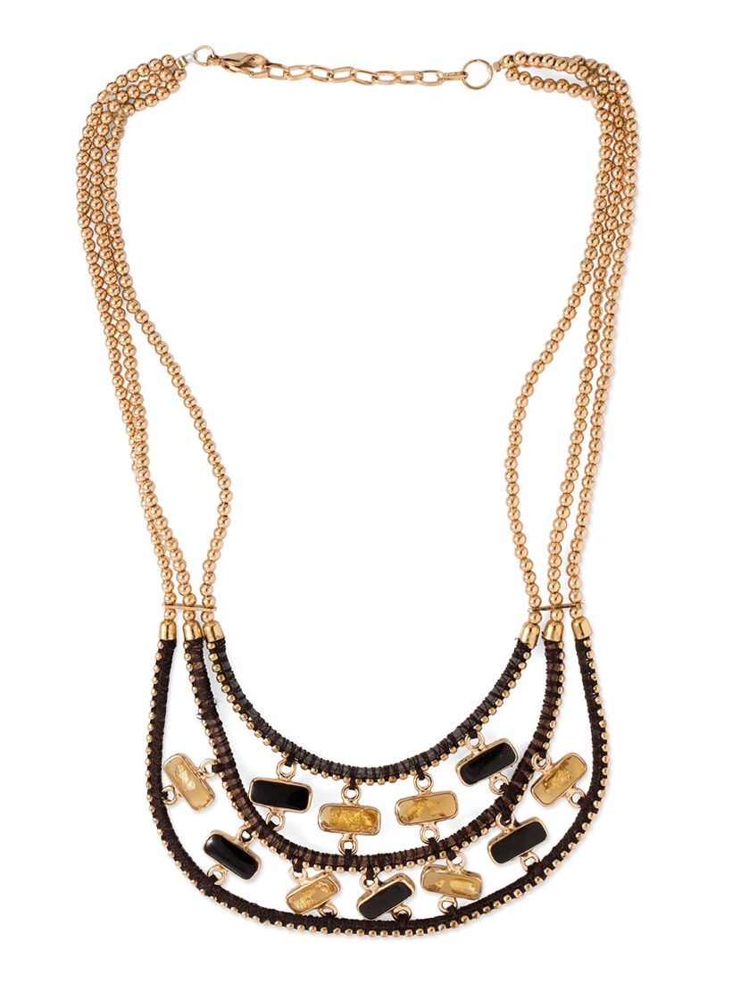 830x1102 Buy Gold Metal Long Necklace For Women From Voylla