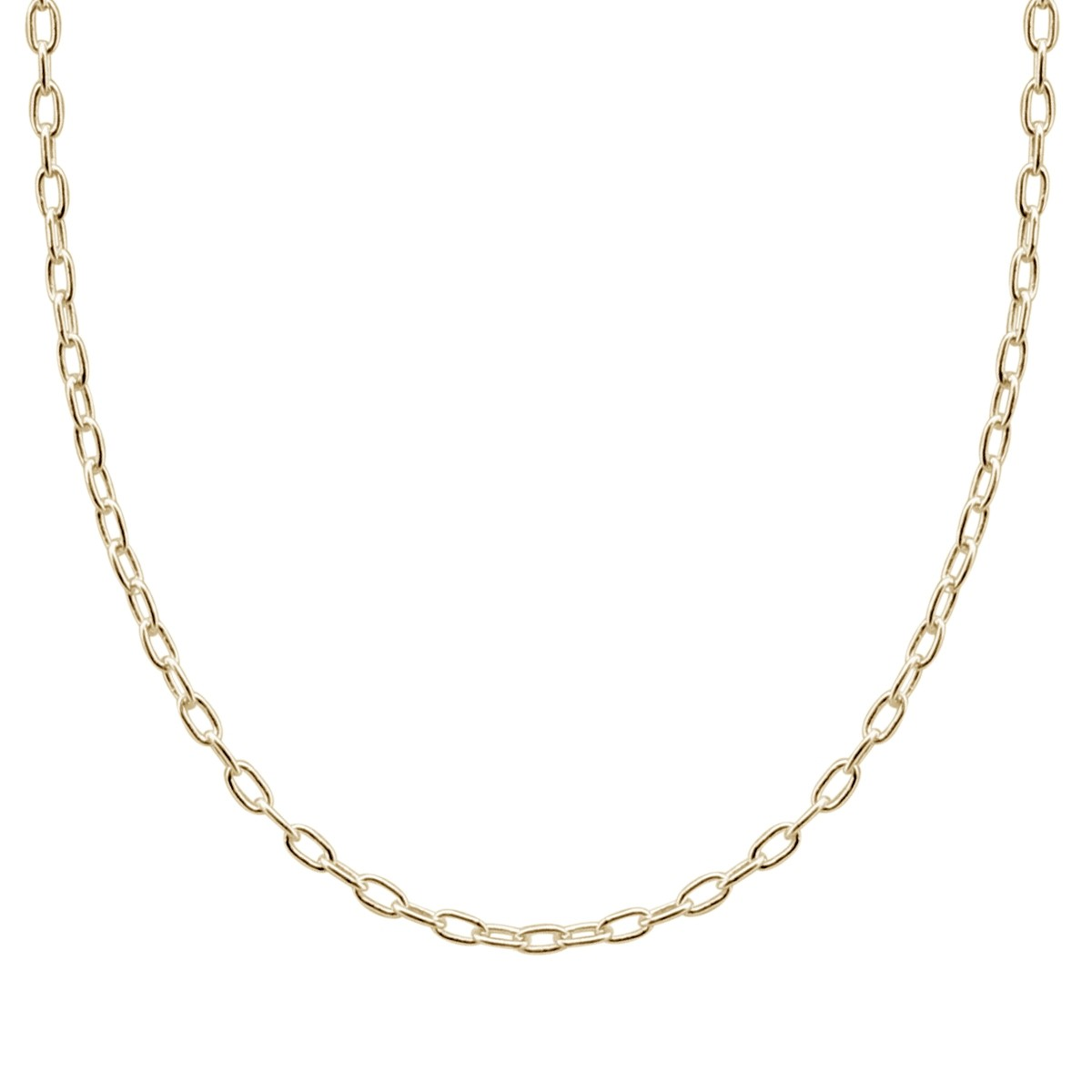 1200x1200 Gold Voyager Cable Chain Dune Jewelry