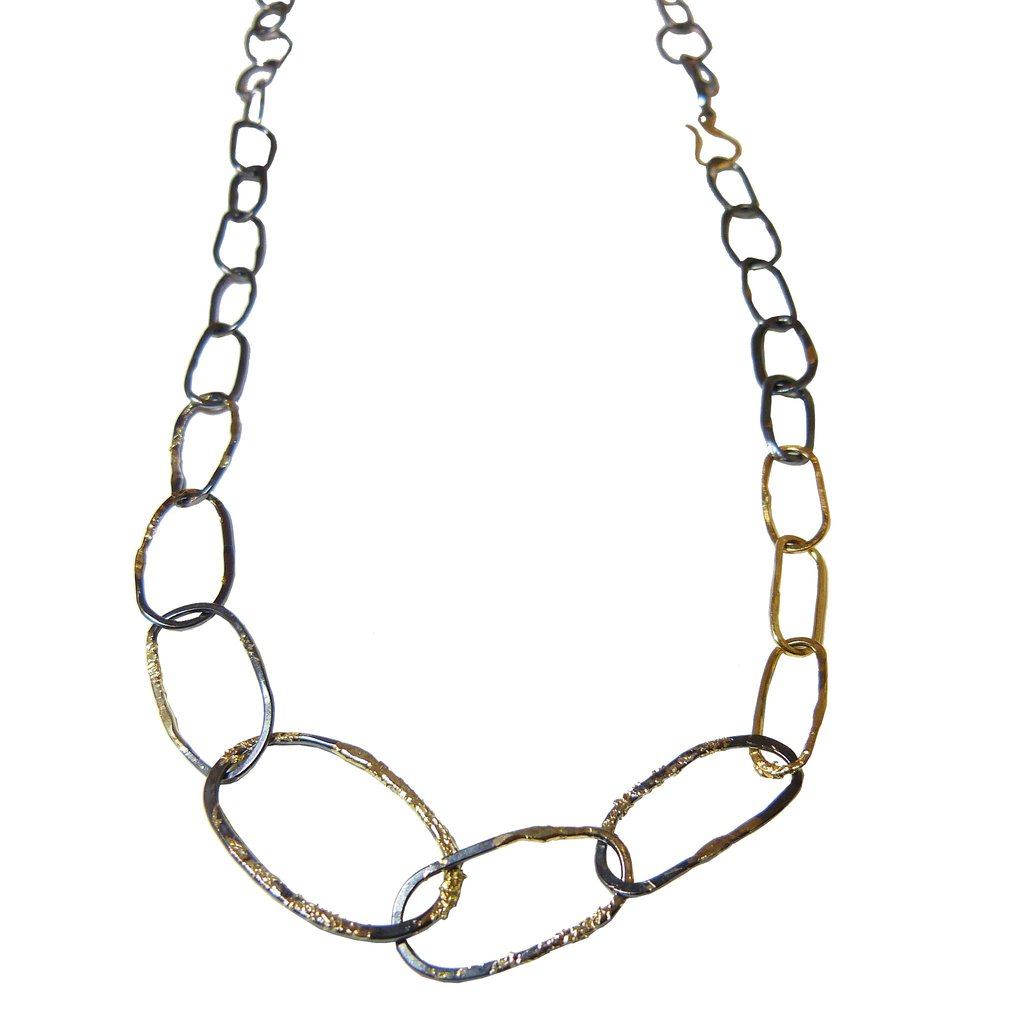 1024x1024 Organic Chain Link Necklace