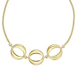300x300 Yellow Gold Shiny Diamond Cut Adjustable Bracelet