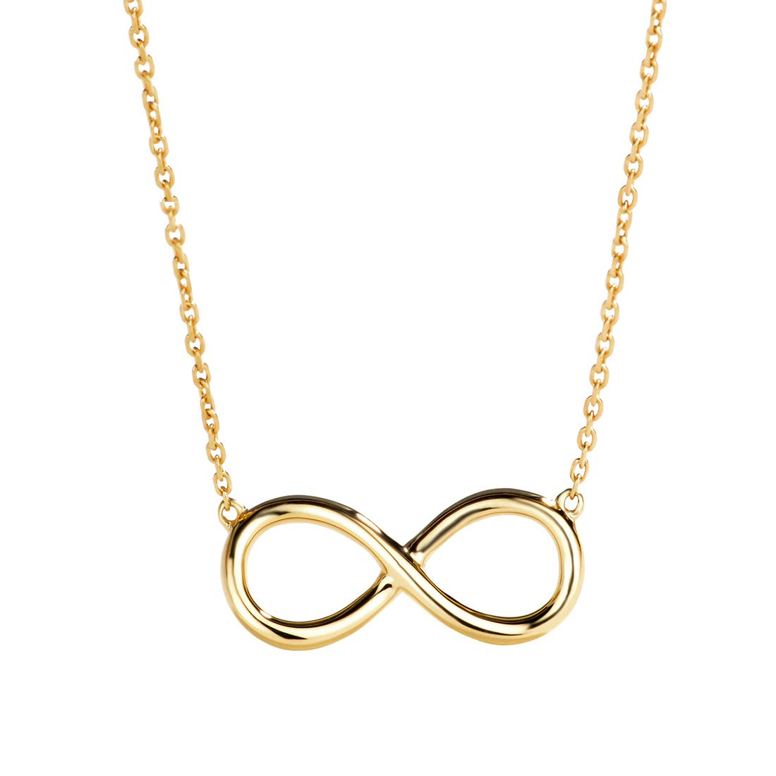1100x1100 Carleen Solid Yellow Gold Well Crafted Infinity