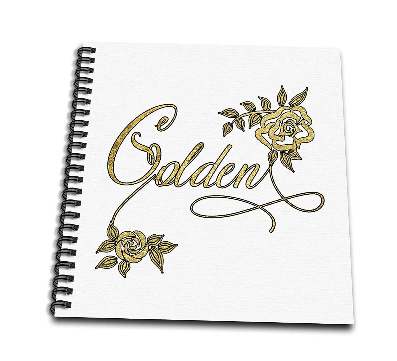 Gold Leaf Drawing