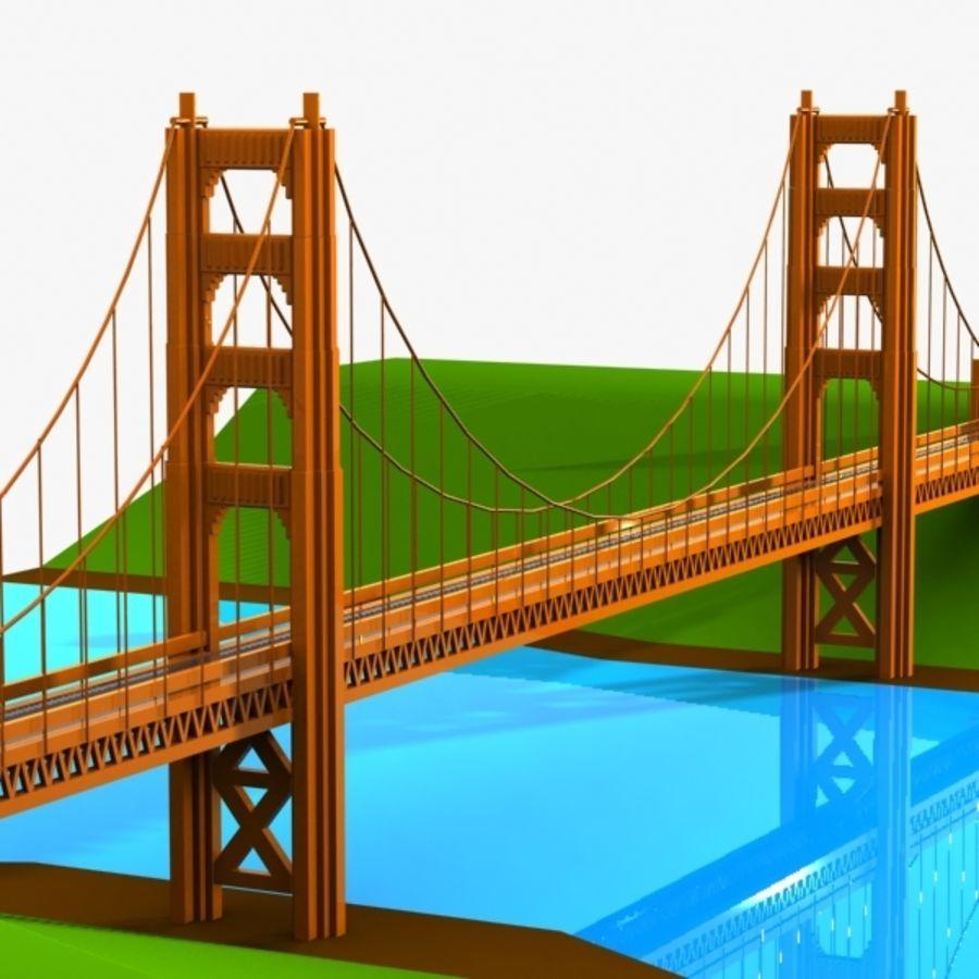 900x900 Golden Gate Bridge Cartoon Pictures